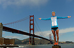 SAN FRANCISCO, CA - MAY 28:  Professional Triathlete Meredith Kessler poses for a portrait  on May 28, 2013 in San Francisco, California. (Photo by Donald Miralle for LAVA Magazine)  *** Local Caption ***