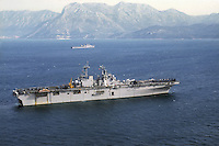 - Amphibious assault ship USS Wasp<br />