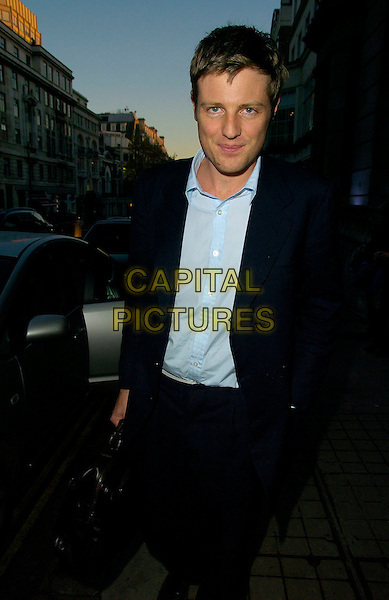 ZAC GOLDSMITH.The Old Vic Theatre Fundraiser VIP lunch, 50 St. James restaurant, London, UK..November 21st, 2006.half length black suit jacket.CAP/CAN.©Can Nguyen/Capital Pictures