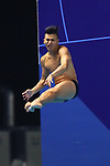 Ken Terauchi, <br /> AUGUST 31, 2018 - Diving : <br /> Men's 3m Springboard Final <br /> at Gelora Bung Karno Aquatic Center <br /> during the 2018 Jakarta Palembang Asian Games <br /> in Jakarta, Indonesia. <br /> (Photo by Naoki Nishimura/AFLO SPORT)