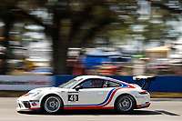 2017 Porsche GT3 Cup USA<br /> Sebring International Raceway, Sebring, FL USA<br /> Friday 17 March 2017<br /> 49, Sebastian Landy, GT3P, USA, 2017 Porsche 991<br /> World Copyright: Jake Galstad/LAT Images<br /> ref: Digital Image lat-galstad-SIR-0317-14691
