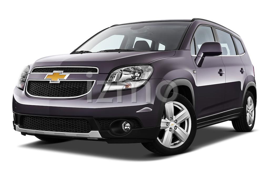 2013 Chevrolet Orlando LTZ+ MPV Low Aggressive Passenger View