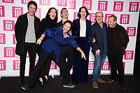 LONDON, UK. January 24, 2019: Fiona Shaw, Hugh Skinner, Sian Clifford, Andrew Scott, Phoebe Waller Bridge, Harry Bradbeer &amp; Bill Paterson at the &quot;Fleabag&quot; season 2 screening, at the BFI South Bank, London.<br /> Picture: Steve Vas/Featureflash