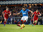 James Tavernier scxores for Rangers from the penalty spot
