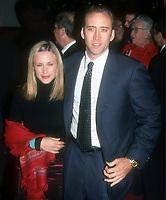 Nicholas Cage, Patricia Arquette, 1999, Photo By John Barrett/PHOTOlink