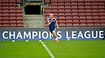 Spanje, Barcelona, 20 oktober 2014<br /> Seizoen 2014-2015<br /> Champions League<br /> Training Ajax in Camp Nou<br /> Davy Klaassen  van Ajax