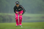 Han Sol Ji of South Korea putts at the 18th hole during Round 4 of the World Ladies Championship 2016 on 13 March 2016 at Mission Hills Olazabal Golf Course in Dongguan, China. Photo by Victor Fraile / Power Sport Images