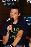 Craig Mottram at the press conference for the 101st. MILLROSE GAMES that was held at Madison Square Garden on Wednesday, January 30, 2008. Craig will be running in The Wanamaker Mile on Friday, February 3rd. 2008 at the Garden. Photo by Errol Anderson,The Sporting Image..