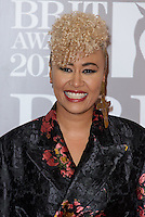 www.acepixs.com<br /> <br /> February 22 2017, London<br /> <br /> Emeli Sande arriving at The BRIT Awards 2017 at The O2 Arena on February 22, 2017 in London, England.<br /> <br /> By Line: Famous/ACE Pictures<br /> <br /> <br /> ACE Pictures Inc<br /> Tel: 6467670430<br /> Email: info@acepixs.com<br /> www.acepixs.com