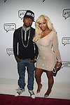 Hip Hop Artist and Love and Hip Hop's Juelz Santana and Kimbella Attend Angela Simmons I Am Presentation Powered Monster at 404 During Mercedes-Benz Fashion Week Fall 2014 NY