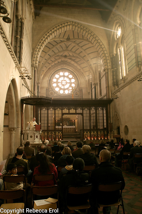 Christmas Morning Eucharist at the Crimean Church, Istanbul, Turkey