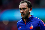 Diego Roberto Godin Leal of Atletico de Madrid warms up prior to the La Liga 2018-19 match between Atletico de Madrid and RCD Espanyol at Wanda Metropolitano on December 22 2018 in Madrid, Spain. Photo by Diego Souto / Power Sport Images