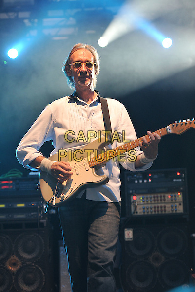 Mike Rutherford, Mike and the Mechanics.at Hard Rock Calling concert, Hyde Park, London, England  26th June 2011.performing playing live on stage gig .CAP/MAR.© Martin Harris/Capital Pictures.