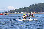 Port Townsend, Rat Island Regatta, rowers, Robin Pike; Ashland OR, MAAS Flyweight, racing, Sound Rowers, Rat Island Rowing Club, Puget Sound, Olympic Peninsula, Washington State, water sports, rowing, kayaking, competition,