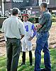 RB So Rich before The Delaware Park Arabian Juvenile Championship (grade 3) at Delaware Park on 9/27/14