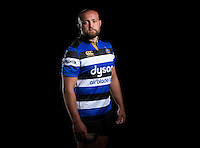 Tom Dunn poses for a portrait at a Bath Rugby photocall. Bath Rugby Media Day on August 24, 2016 at Farleigh House in Bath, England. Photo by: Rogan Thomson / JMP / Onside Images