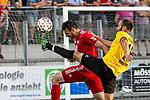 23.07.2019, Arena Memmingen, RL, FC Memmingen vs SpVgg Bayreuth, <br /> im Bild Anton Makarenko (Bayreuth, #15) ist vor Luca Sirch (Memmingen, #16) am Ball, Fussspitze<br /> <br /> Foto © nordphoto / Hafner