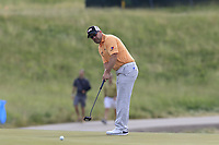 Richie Ramsay (SCO) putts on the 3rd green during Friday's Round 2 of the 117th U.S. Open Championship 2017 held at Erin Hills, Erin, Wisconsin, USA. 16th June 2017.<br /> Picture: Eoin Clarke | Golffile<br /> <br /> <br /> All photos usage must carry mandatory copyright credit (&copy; Golffile | Eoin Clarke)