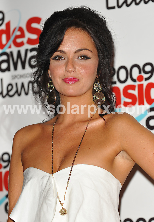 **ALL ROUND PICTURES FROM SOLARPIX.COM**.**WORLDWIDE SYNDICATION RIGHTS**.Red Carpet  arrivals at the 2009 Inside Soap Awards.  Held at Sketch, Conduit Street, London. 28 September 2009..This pic: Jennifer Metcalfe..JOB REF: 10034 SSD     DATE: 28_09_2009.**MUST CREDIT SOLARPIX.COM OR DOUBLE FEE WILL BE CHARGED**.**MUST NOTIFY SOLARPIX OF ONLINE USAGE**.**CALL US ON: +34 952 811 768 or LOW RATE FROM UK 0844 617 7637**