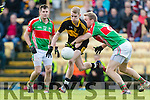 Gavin O'Shea Dr Crokes in Action against Noel McGrath Loughmore-Castleiney in the Munster Senior Club Semi-Final at Crokes Ground, Lewis Road on Sunday