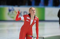 SPEED SKATING: STAVANGER: Sørmarka Arena, 31-01-2016, ISU World Cup, 1000m Ladies Division A, Hege Bøkko (NOR), ©photo Martin de Jong