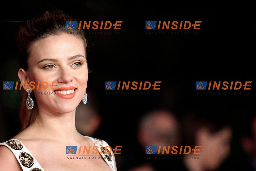 Scarlett Johansson<br /> Roma 10-11-2013 Auditorium <br /> Festival Internazionale del Film di Roma<br /> Rome Film Festival <br /> 'Her' Red Carpet<br /> Foto Samantha Zucchi / Insidefoto