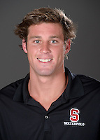 STANFORD, CA - September 9, 2010: Alex Pulido , 2010 Waterpolo portraits.