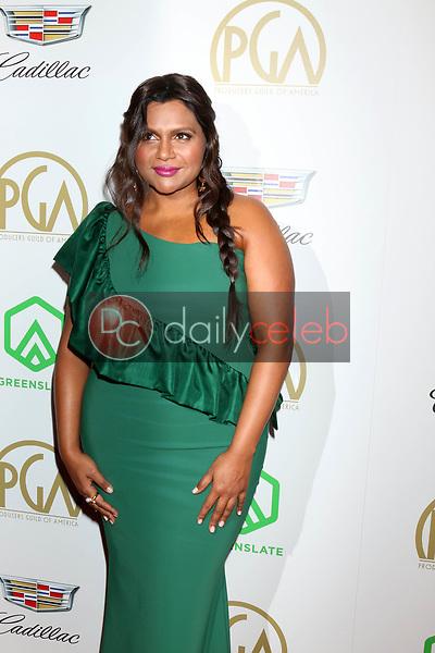 Mindy Kaling<br /> at the 2019 Producer's Guild Awards, Beverly Hilton Hotel, Beverly Hills, CA 01-19-19<br /> David Edwards/DailyCeleb.com 818-249-4998