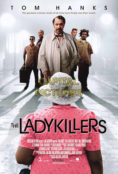 POSTER ART.in The Ladykillers.Filmstill - Editorial Use Only.Ref: FB.www.capitalpictures.com.sales@capitalpictures.com.Supplied by Capital Pictures