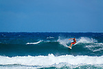 Surfing at Ho'okipa Beach Park, Paia, Maui, Hawaii, USA