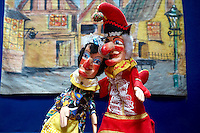 Punch and Judy puppets, Palermo puppet Museum, Sicily