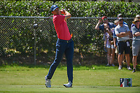 Jordan Spieth (USA) watches his tee shot on 2 during round 3 of the Fort Worth Invitational, The Colonial, at Fort Worth, Texas, USA. 5/26/2018.<br /> Picture: Golffile | Ken Murray<br /> <br /> All photo usage must carry mandatory copyright credit (&copy; Golffile | Ken Murray)