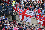 England's and Scotland's fans enjoy the atmosphere during the FIFA World Cup Qualifying match at Hampden Park Stadium, Glasgow Picture date 10th June 2017. Picture credit should read: David Klein/Sportimage