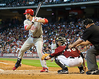 Utley, Chase 6324.jpg Philadelphia Phillies at Houston Astros. Major League Baseball. September 6th, 2009 at Minute Maid Park in Houston, Texas. Photo by Andrew Woolley.