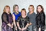 Rita O'Sullivan, Joanie McAulliffe, Catherine and Mandy Carroll, and Marguerite O'Sullivan at the Kiskeam GAA social in the Killarney Oaks Hotel on Saturday night