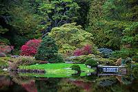 Asticou Garden, Mt Desert Island, Maine, USA
