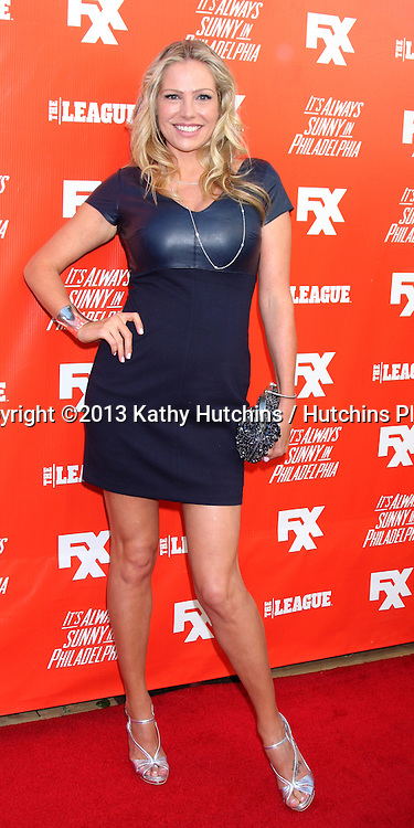 """LOS ANGELES - SEP 3:  Kate Luyben at the FXX Network Launch Party And Premieres For """"It's Always Sunny In Philadelphia"""" And """"The League"""" at the Lure on September 3, 2013 in Los Angeles, CA"""