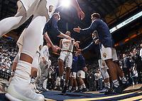 Berkeley, CA - December 21st, 2016:  CAL Men's Basketball's 52-56 loss to Virginia at Haas Pavilion.