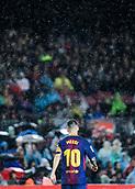 4th November 2017, Camp Nou, Barcelona, Spain; La Liga football, Barcelona versus Sevilla; Leo Messi;