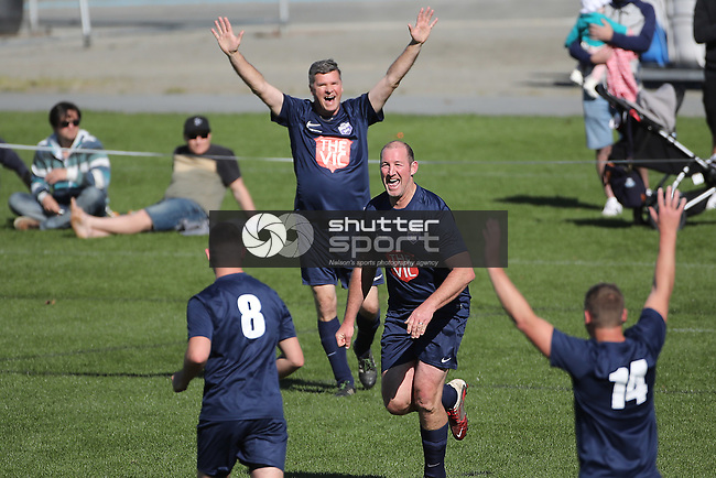 NELSON, NEW ZEALAND - SEPTEMBER 29:  Get Ballsy charity Football game Trafalgar  park on September 29 2018 in Nelson, New Zealand. (Photo by: Evan Barnes Shuttersport Limited)