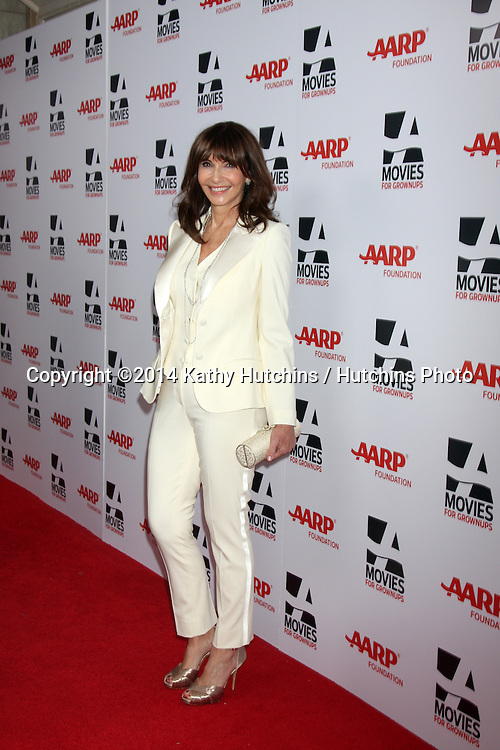 """LOS ANGELES - FEB 10:  Mary Steenburgen at the AARP """"Movies for Grownups"""" Awards at Beverly Wilshire Hotel on February 10, 2014 in Los Angeles, CA"""