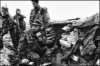 Frontline close to Livno, Bosnia, Balkan War, 1993