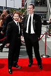 LOS ANGELES, CA. - September 13: Actors Seth Green and Matt Senreich arrive at the 60th Primetime Creative Arts Emmy Awards held at Nokia Theatre on September 13, 2008 in Los Angeles, California.
