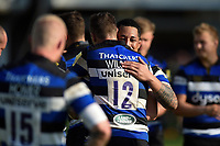 Anthony Perenise of Bath Rugby after the match. Aviva Premiership match, between Bath Rugby and London Irish on May 5, 2018 at the Recreation Ground in Bath, England. Photo by: Patrick Khachfe / Onside Images