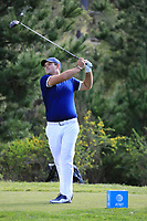 Patrick Reed (USA) during the first round of the AT&amp;T Pro-Am, Pebble Beach Golf Links, Monterey, California, USA. 07/02/2019<br /> Picture: Golffile | Phil Inglis<br /> <br /> <br /> All photo usage must carry mandatory copyright credit (&copy; Golffile | Phil Inglis)