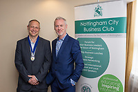 NCBC President Mark Deakin with  guest speaker Brendan Moffett of Marketing NG