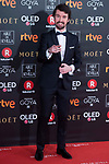 Santiago Alveru attends red carpet of Goya Cinema Awards 2018 at Madrid Marriott Auditorium in Madrid , Spain. February 03, 2018. (ALTERPHOTOS/Borja B.Hojas)