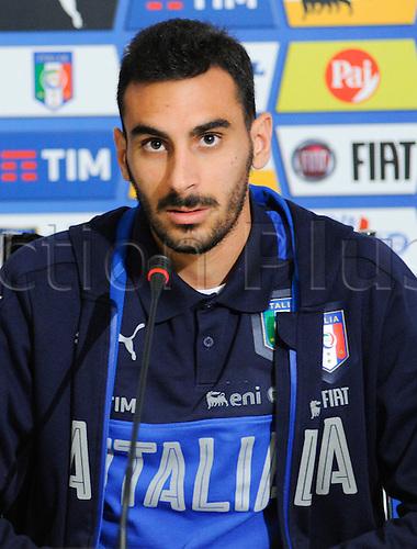 20.05.2016. Florence, Italy. The mens Italian Football team press conference.   Davide Zappacosta (Torino)