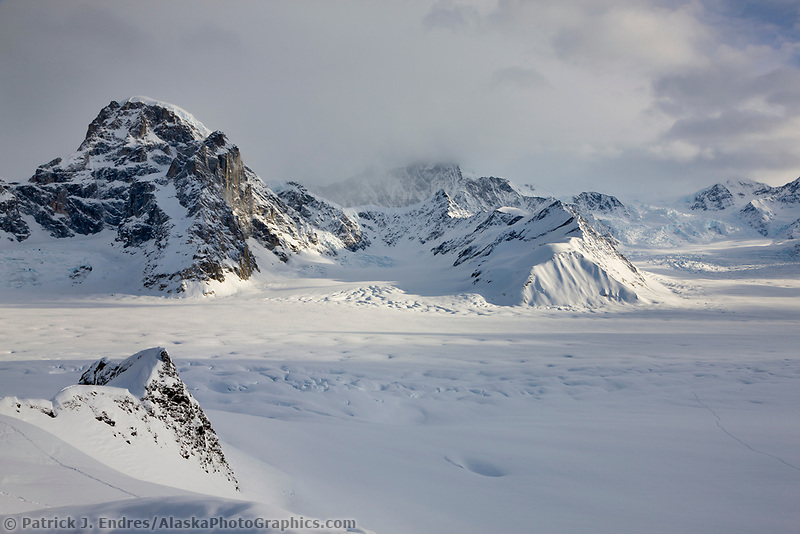 Ruth glacier, Alaska Range mountains, Interior, Alaska.