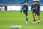 PSG's Players Neymar, Thiago Silva and Marquinhos during training session. <br /> November 25 ,2019.<br /> (ALTERPHOTOS/David Jar)